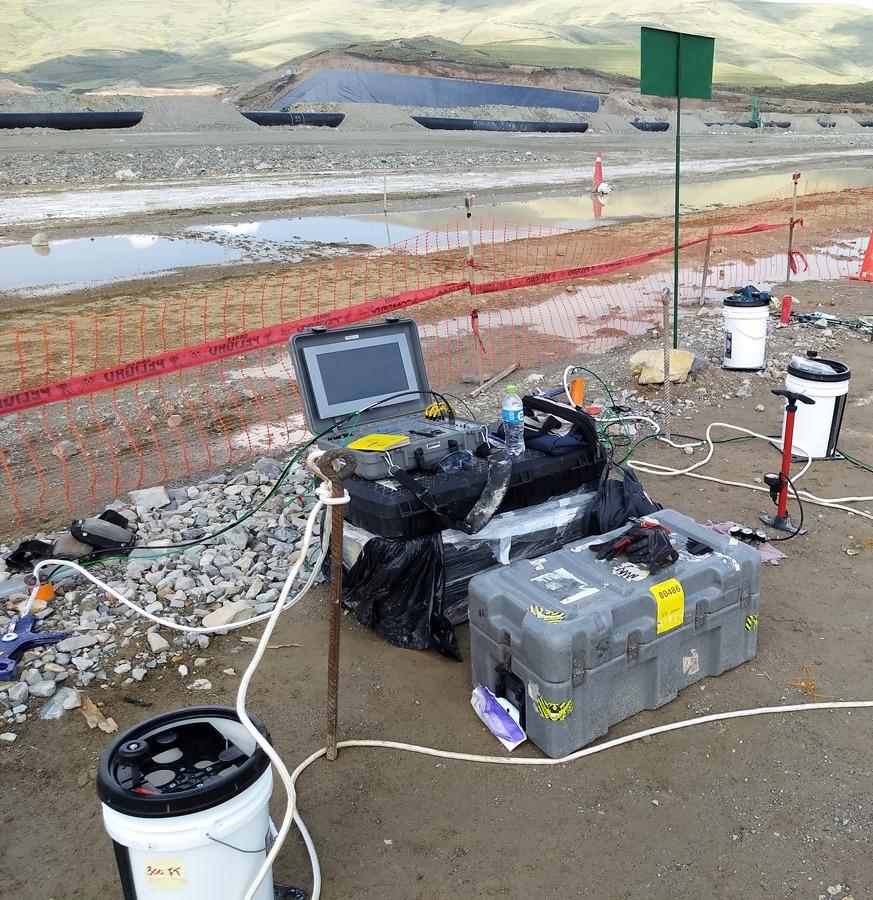 Crosshole Downhole Seismic CSDS, Olson Engineering