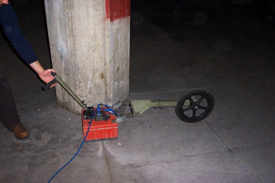Ground Penetrating Radar GPR, Olson Engineering