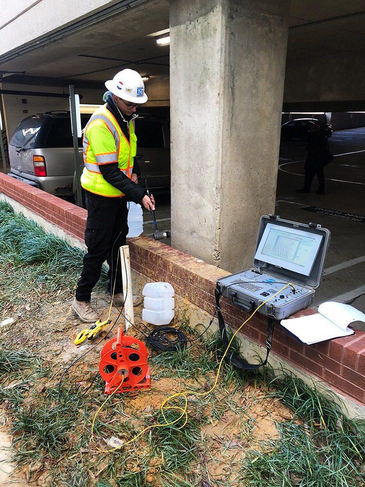 Parallel Seismic PS, Olson Engineering